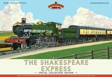 BACHMANN 30-525 1:76 OO SCALE The Shakespeare Express Train Pack DCC Ready