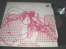 TANGERINE DREAM Electronic Meditation LP '69 / '87 NM rare electronic synth WOW!
