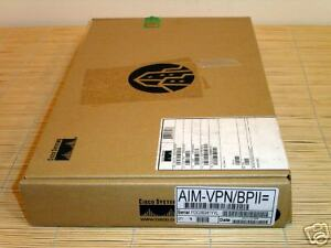 NEW Cisco AIM-VPN/BPII ENCRYPTION MODULE DES/3DES/AES SEALED