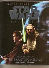 STAR WARS MAKING OF THE PHANTOM MENACE BOOK LIMITED FIRST EDITION