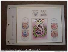 MONACO documento CEF 1° giorno Olimpiadi di MONACO di Baviera concorso d'