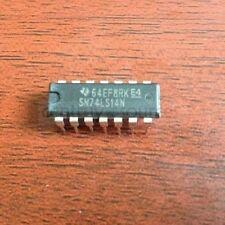 2PCS SN74LS14N TI 14-PIN DIP NOS! 74LS14N 74LS14