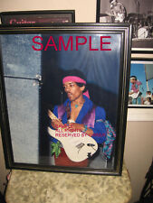 JIMI HENDRIX VINTAGE ORIGINAL LARGE 19 1/2 BY 15 1/2 FROM PRIVATE COLLECTION