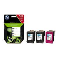 Original HP 301, E5Y87EE Druckkopf Tintenpatronen Multipack 2x Black 1x Tricolor