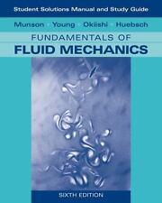 Fundamentals of Fluid Mechanics, Student Study Version