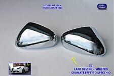 CALOTTE GIULIETTA CROMATE Specchietti cromati ALFA ROMEO per calotta kit tuning