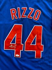 ANTHONY RIZZO Signed Jersey JSA Chicago Cubs #44 Autograph