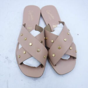Seychelles Total Relaxation Vacchetta Leather W/Studs Size 7 TB00319