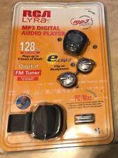 RCA LYRA MP3 Pro Digital Audio Player 128MB PC Mac USB RD1080 NEW factory sealed