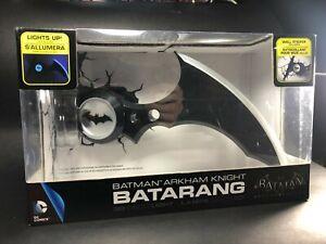 Batman Batarang 3D Wall Light - Black/Silver | NEW in Box