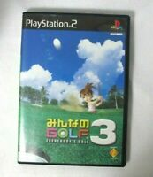 PS2 juego - Everybody's Golf 3 / Minna no Golf 3 JAPAN SN3032