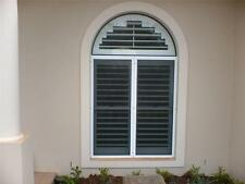 Plantation Hinged Window Door PVC Shutters Custom Made High Quality Stable