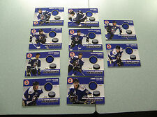 WBS Penguins 10-11 Jersey Card Lot Dustin Jeffrey Zach Sill Pittsburgh Very Nice