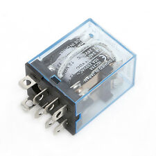 1Pc 10A LY2NJ Led Lamp DC 12V AC 240V DPDT 8Pin Coil Power Relay 2NC 2NO