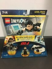 Lego Dimensions Mission Impossible Tom Cruise Level Pack 71248 MINT COMPLETE