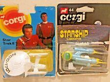 corgi star trek  and star ship