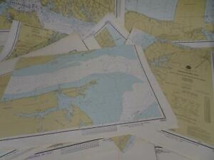 Lot 17 Virginia VA NOAA Nautical Navigational Maps Charts 1970s to 1980s