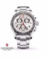 Swiss Army Victorinox Chronograph Classic XLS Mens Watch 241445