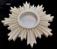 Art Deco - Starburst Design- Small Plaster Ceiling Rose