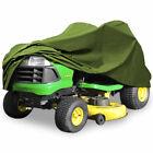 "62"" Green Riding Lawn Mower Tractor Cover Garden Outdoor UV Protector Waterproof"