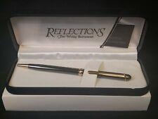 Reflections Fine Writing Instruments Ballpoint Pen NIB Gunmetal NOT ENGRAVED
