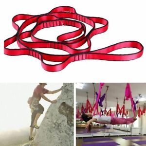 Hanging Climbing Rope Yoga Stretch Belt Extender For Air Hammock Flying Swing