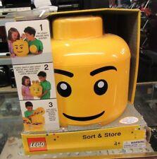 LEGO Sort & Store NEW Mini Figure Head Storage Container 2012 KP001 Box Damaged