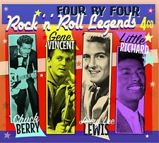 """Rock'n'Roll Legends"" Chuck Berry,Gene Vincent,Jerry Lee Lewis Little Richard"