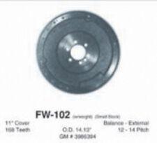 Pioneer Clutch Flywheel FW-102; 168 Tooth EXT Nodular Iron for Chevy 400 SBC