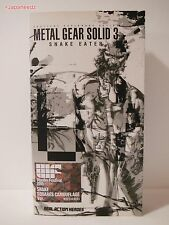 Medicom RAH Metal Gear Solid 3 Snake Squares Camouflage Limited 500 Ver. MGS MIB