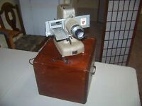 TDC Selectron Semimatic Slide Projector Three Dimension Company Vintage W/ Case