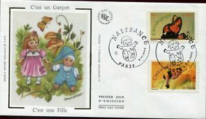 FAUNA_2704 2004 France butterflies FDC COVER Combined payments & shipping