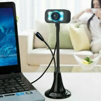 USB 2.0 HD Webcam Camera Web Cam With Mic For Computer PC Laptop Desktop RS