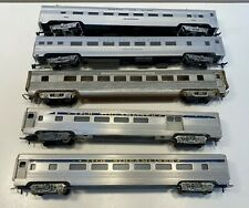 HO IHC Tyco and Unknown 5 car streamliner group passenger cars no boxes