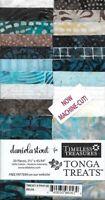 "Timeless Treasures Batik Tonga Treats - Ibiza - (20) 2.5"" Fabric Strips"