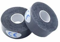"2x Rolls of Bowling Thumb Skin Protection Tape 1"" x 196"" Black"