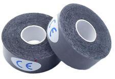 "2x Rolls of Bowling Thumb Skin Protection Tape 1"" x 196"" Black"