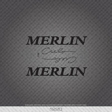 01220 Merlin Cielo Bicycle Stickers - Decals - Transfers - Black
