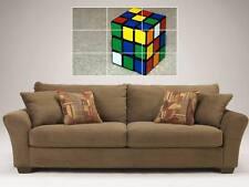 """Rubik's Cube mosaïque 35 """"de 25"""" mur Poster Puzzle Rubiks Cube Magique"""
