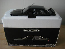 1:18 Minichamps BMW M3 Street 1987 Black (E30) BRAND NEW! Extremely Rare! M3