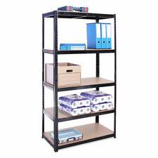 Garage Shelving Unit 5 Tier 180x90x40cm Racking Shelf Storage 2 Units