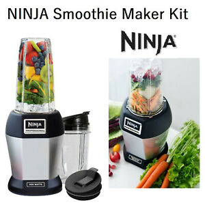 NINJA Smoothie Maker Nutrition Extractor Juicer Blender Crusher Fruit Frozen