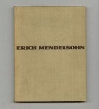 1930 Erich Mendelsohn DAS GESAMTSCHAFFEN DES ARCHITEKTEN German Design 1st ed BK