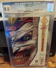 CATWOMAN #13 CGC 9.8 NEWSSTAND EDITON EXISTS WITHOUT DIE-CUT OUTER COVER.