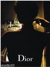 PUBLICITE ADVERTISING 105  2006  DIOR  parfum j'ADORE CHARLIZE THERON ( recto ve