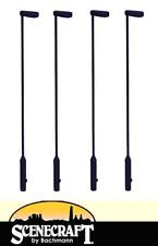 Bachmann 44-543 Metal Platform Lamps x4 OO Gauge