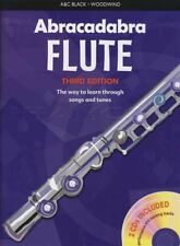Abracadabra for Flute 3rd Edition Sheet Music Book with CDs Learn How To Play