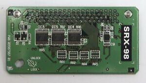 ROLAND SRX-98 analog Essentials Expansion-Board  Rechnung + GARANTIE