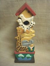 Handcrafted Wooden Noah'S Ark Bird House