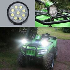 Super White 27W 9-LED 1600LM Flood Beam Off-Road 4X4 Jeep SUV Work Lamp